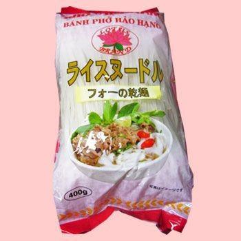 ベトナム フォー 4mm 400gX30袋 (ベトナム料理)グルテンフリーの麺、アレルギー対応食品)