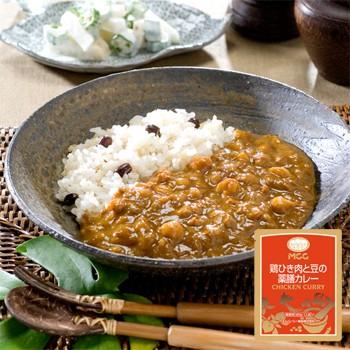 MCC レトルトカレー 鶏ひき肉と豆の薬膳カレー 180g (薬膳 キーマカレー)