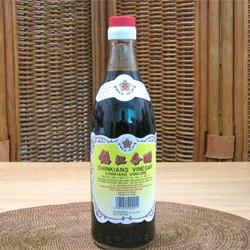 厳選 鎮江香酢(中国黒酢・香醋)お徳用600g(瓶入)(中華料理、業務用)
