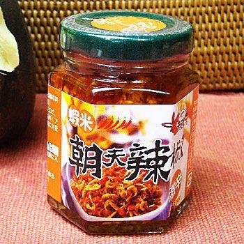 激辛 蝦米朝天辣椒  朝天海老入辣椒 105g 辛味調味料・食べるラー油代わりに