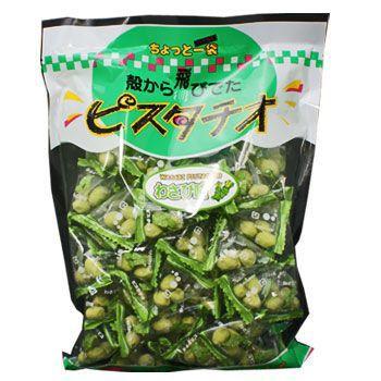グリーン スナック ピスタチオ わさび味 240g X 4個 (お菓子 おつまみ)