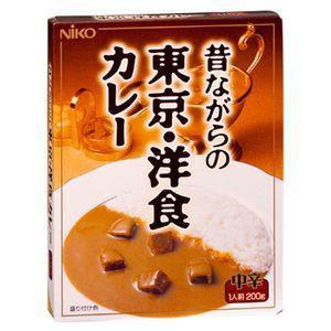 レトルトカレー 昔ながらの東京・洋食カレー 中辛(1人前 200g)×4箱