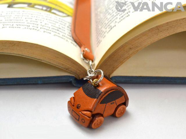 ミニカー チャームブックマーカー/しおり/ーレザー 本革 VANCA/バンカクラフト革物語 60912