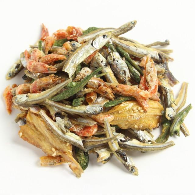 五色煮1kg 業務用大袋 南風堂 小魚いろいろミックス