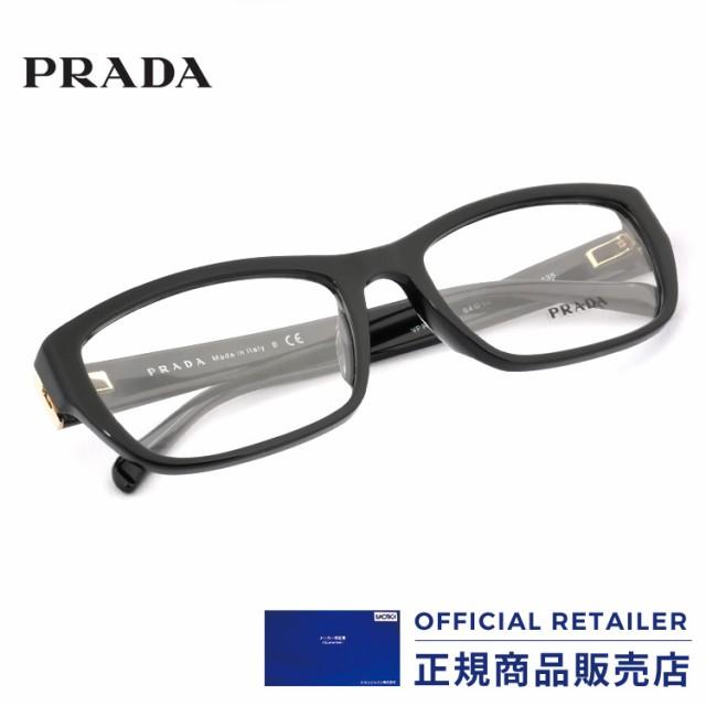 プラダ メガネ フレーム スクエア アジアンフィット PRADA PR18OVA 1AB1O1