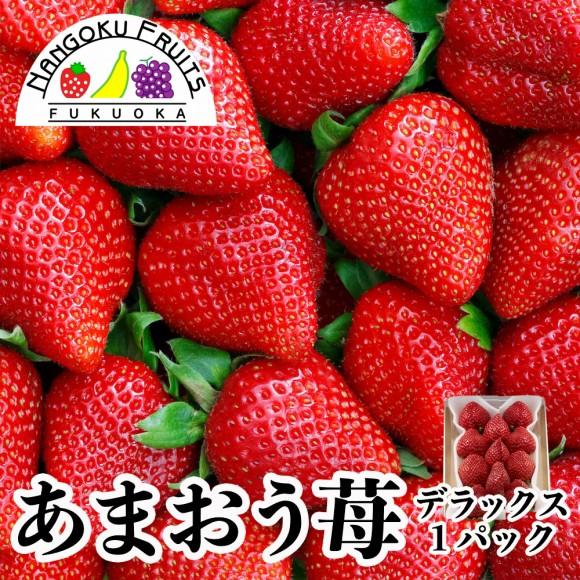 南国フルーツ・福岡産あまおう苺・デラックス1パック