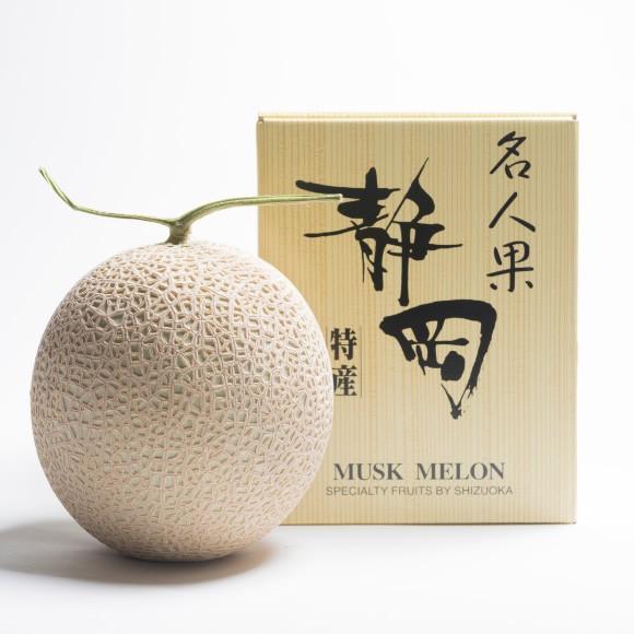 静岡産マスクメロン1玉木箱入