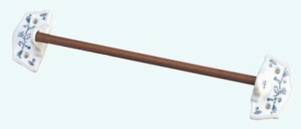 【MEISTER HAND/マイスターハンド】LA CUISINE キュジーヌ タオルハンガー タオル掛け 06152 5.5×45×10cm