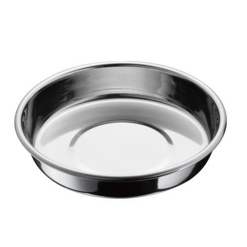 マルカン 猫用ステンレス食器M 13cm 水飲み わんぱく猫用 ペット用 動物用