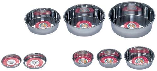 ステンレス食器皿23 わんぱく大型犬用猫用 日本製