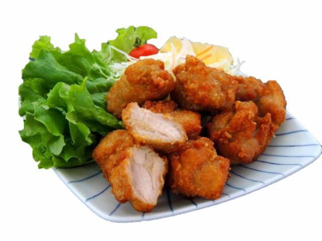薄衣仕立ての鶏もも唐揚げ 1kg入り【業務用 冷凍食品 惣菜 竜田揚げ 唐揚げ 鶏肉 チキン もも お弁当 おかず おつまみ 鳥新】