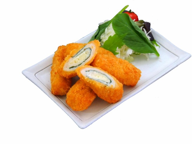 若鶏チーズ大葉巻35g 20個入り【業務用 冷凍食品 惣菜 鶏肉 チキン むね お弁当 おかず チーズ しそ 大葉 オードブル パーティ】