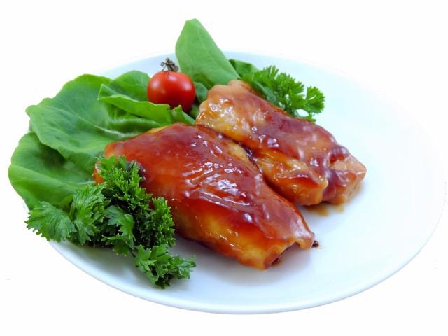 チキン照焼き80g 20枚入り【業務用 冷凍食品 惣菜 照焼き チキン もも お弁当 おかず おつまみ レンジ調理 調理済み】