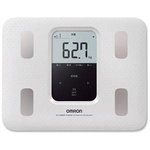 オムロン 体重体組成計「カラダスキャン」 HBF‐220‐W (ホワイト)