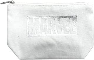 マーベル グッディポーチ ロゴ シルバーホワイト SPAP2368(キャラクター グッズ)