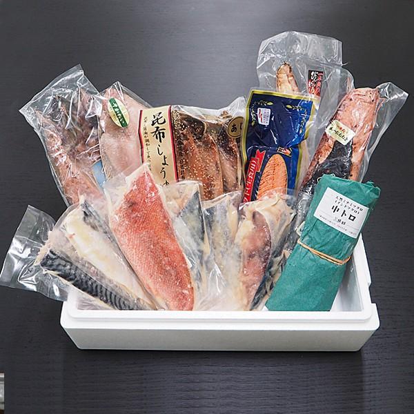 築地魚群 海鮮セレクトセット「松」 冷凍便 築地直送 [魚群セット ギフト]