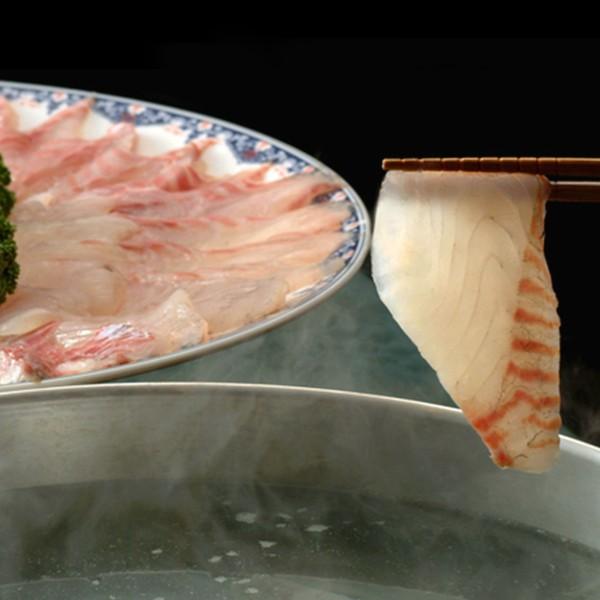 [豊洲市場海鮮鍋セット]真鯛しゃぶしゃぶセット 冷凍便 [鯛 鯛しゃぶ タイ 鍋 鍋セット 海鮮鍋 ]