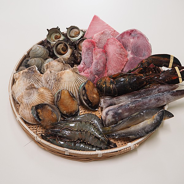 豊洲市場 海鮮バーベキューセット「松」 冷蔵便 築地直送 [海鮮バーベキューセット]