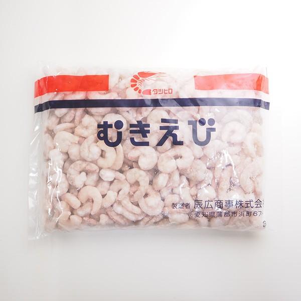むきバナメイ海老(中サイズ)100-200尾 冷凍便 築地直送 [えび]