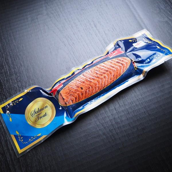 炙りサーモン(刺身用) 冷凍便 築地直送 [鮭・サーモン 珍味・おつまみ]