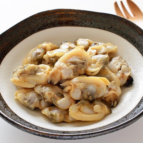 あさり(むき身、ボイル冷凍)1kg 冷凍便 [あさりのむき身]
