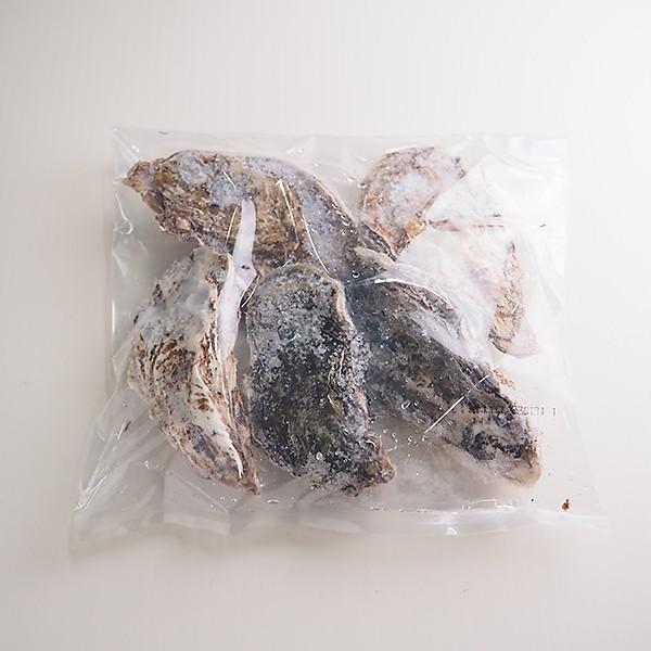 邑久(おく)の牡蠣 (殻付生冷) 岡山県虫明湾産 5個×4パック 冷凍便 [千種川 邑久町 生食]