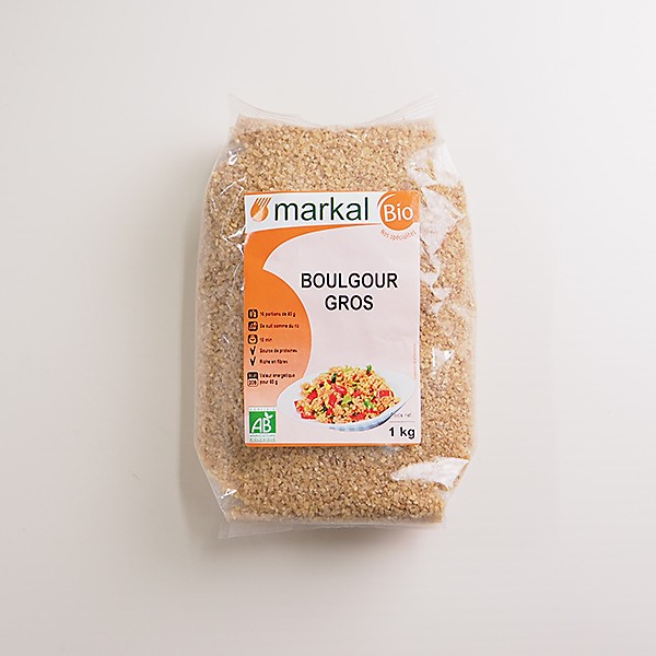 有機ブルガー小麦 1kg フランス産 常温便 [フランス料理 イタリア料理 地中海料理]