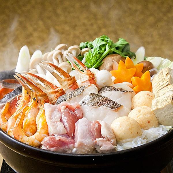 タラバガニ鍋セット(4人前) 冷凍便/商品代引不可 [たらば蟹]