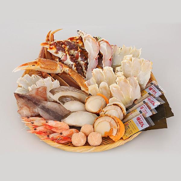 蟹ちり鍋セット(4人前) 冷凍便/商品代引不可 [かにちり]