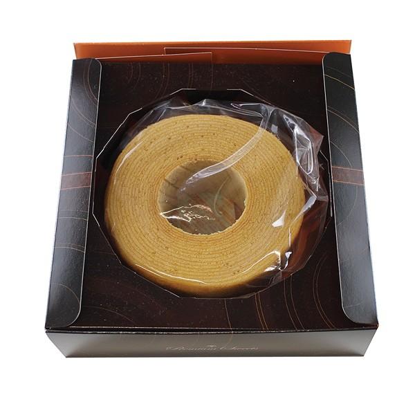 プレミアムバームクーヘン(メープル味) 常温便/商品代引不可 [洋菓子 米粉バームクーヘン]