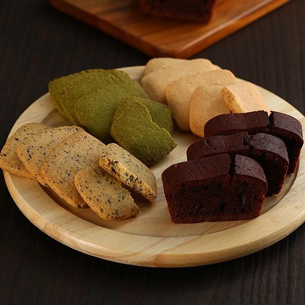 ケーキ&クッキープレミアムギフト(ショコラ) 常温便/商品代引不可 [洋菓子 焼き菓子ギフト]