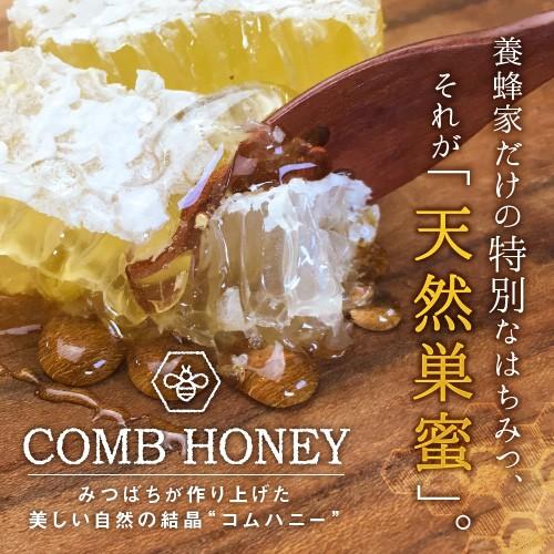 コムハニー 天然 巣蜜 340g (2個セット) コームハニー クローバー はちみつ ハチミツ 蜂蜜 ニュージーランド