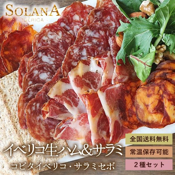 ポイント消化 送料無料 おつまみ 『スペイン産 イベリコ豚 熟成大トロ生ハム+サラミ90g』ぽっきり お試し お取り寄せ 2021