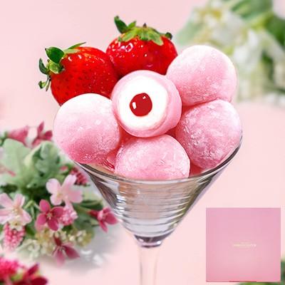 ピンクのモチショコラ9個入 プチギフト 母の日 出産祝い 内祝い 誕生日 還暦祝い 出産内祝い 結婚祝い お祝い 出産内祝い お返し 転勤