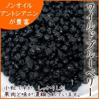 『送料無料』厳選のノンオイル・アメリカ産 ワイルドブルーベリー(野生種) 200g入り【アメリカ産ワイルドブルーベリー200g】
