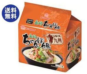 【送料無料】マルタイ 本場の味 九州長崎ちゃんぽん麺 5食入パック 84g×5食×6個入