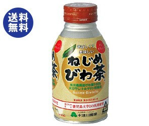 【送料無料】 十津川農場 ねじめびわ茶 290mlボトル缶×24本入
