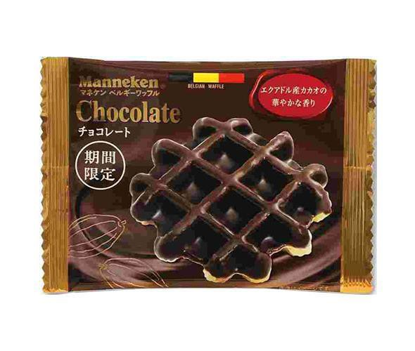 【送料無料】ローゼン マネケン チョコレートワッフル 12(6×2)個入