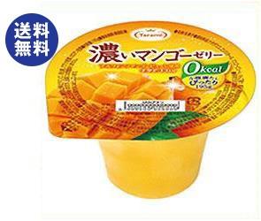 【送料無料】 たらみ 濃いゼロカロリー 濃いマンゴーゼリー0kcal 195g×24(6×4)個入