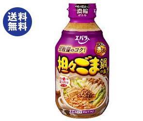 【送料無料】 エバラ食品 担々ごま鍋の素 300ml瓶×12本入