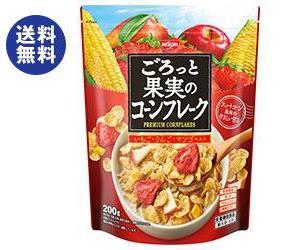 【送料無料2ケースセット】 日清シスコ ごろっと果実の コーンフレーク 200g×6袋入×(2ケース)