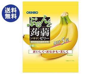 【送料無料2ケースセット】オリヒロ ぷるんと蒟蒻ゼリー バナナ 20gパウチ×6個×24袋入×(2ケース)
