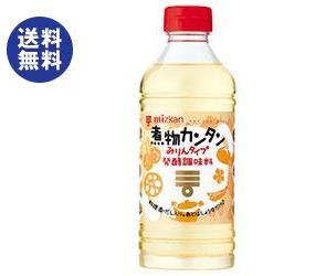 【送料無料2ケースセット】ミツカン 煮物カンタン みりんタイプ 500mlペットボトル×12本入×(2ケース)