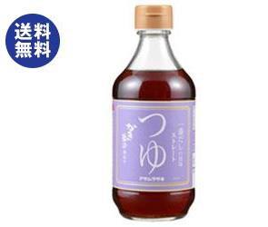 【送料無料2ケースセット】アサムラサキ かき醤油仕立てつゆ ストレート 400ml瓶×12本入×(2ケース)