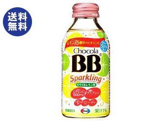 【送料無料】エーザイ チョコラBB スパークリング キウイ&レモン味 140ml瓶×24本入