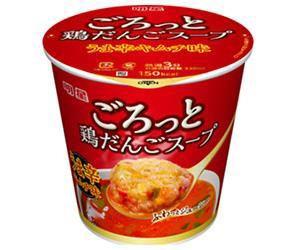 【送料無料】明星食品 ごろっと鶏だんごスープ うま辛キムチ味 17g×24(6×4)個入