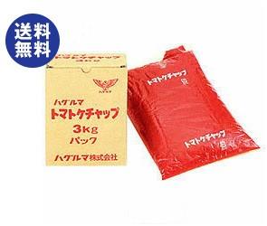 【送料無料】 ハグルマ JAS標準 トマトケチャップ 3kg袋パック×4袋入