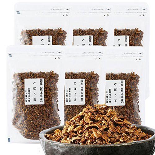 ごぼう茶 国産 送料無料 大容量お得セット 国産の濃いごぼう茶 70g×6袋セット 420g 牛蒡茶 送料無料 水溶性植物繊維豊富 ポリフェノー