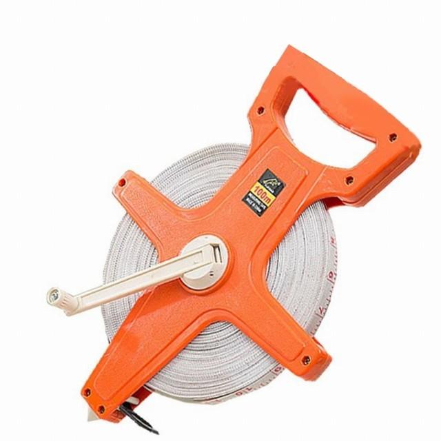 テープメジャー 100m メジャー スケール 距離測定器 測定器 巻尺 巻き尺