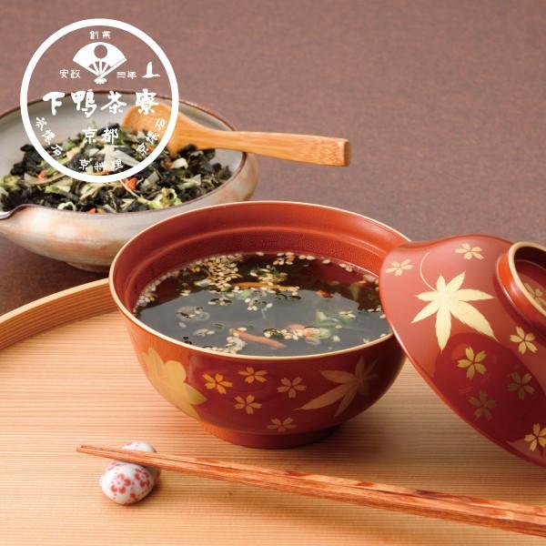 料亭の昆布のお吸いもの(デザイン袋) 《京都 料亭 ギフト 内祝い 出産祝い 結婚祝い プレゼント 惣菜 ご飯の供 お吸い物 味噌汁 みそ汁